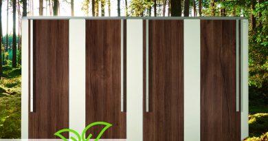 WC-Trennwandsystem NiUU_greenline