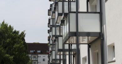 Balkone für Klinkerbestand