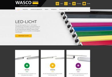 Wasco relauncht Internetseite