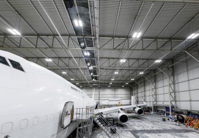 HAITEC Aircraft Maintenance GmbH setzt auf Deutsche Lichtmiete