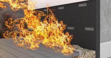 Brandsicher mit Schaumglas