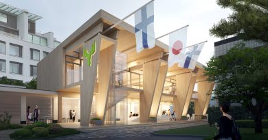 Eleganter Pavillon von Metsä – Finnische Holzarchitektur in Tokio