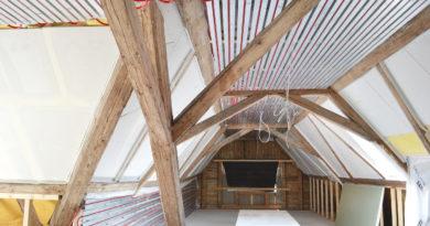 Heizen und kühlen im Dachgeschoss