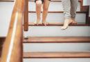 Treppen rutschsicher machen Griffige Oberfläche für Stufen aus Holz