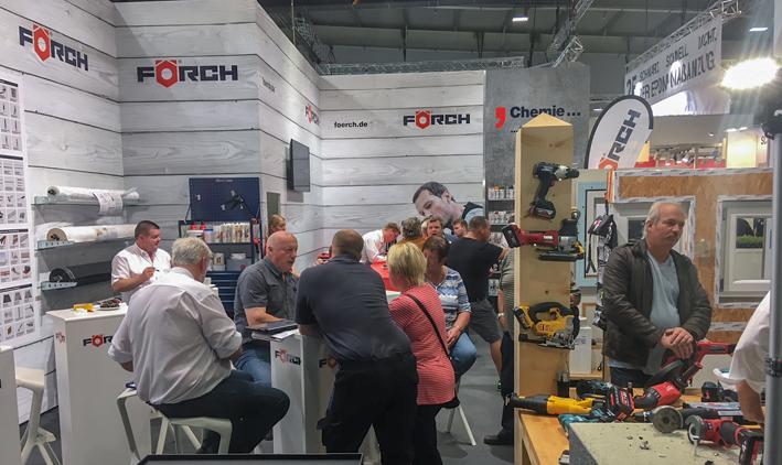 Förch präsentiert sich auf der 64. NordBau Digitale Baustelle und Akkuwerkzeuge im Fokus
