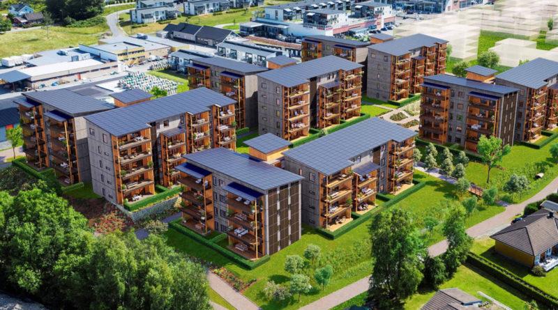Metsä Wood: Grün bauen und wohnen in Norwegen
